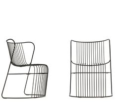 STEEL GARDEN ARMCHAIR KASKAD COLLECTION BY NOLA INDUSTRIER | DESIGN BJÖRN DAHLSTRÖM