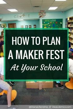 Maker Fests are a great way to share your students' learning with your community. Learn the logistics of planning a Maker Fest / Maker Fair at your school. Interactive Activities, Hands On Activities, Plan Maker, Magnet School, Elementary Library, Project Based Learning, Learning Spaces, Middle School Science, Science Classroom