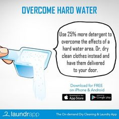 Overcome hard water in London with this Laundry Day Lifehack!