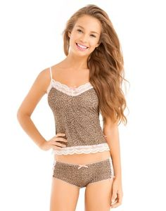 love the animal print. set by adore me