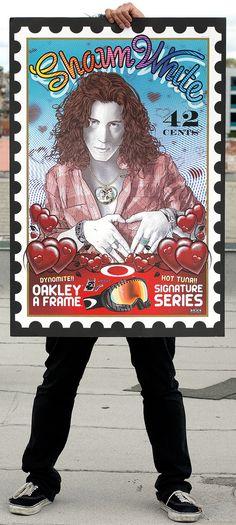Shaun White Stamp