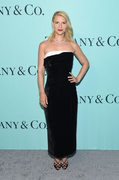 Actress Claire Danes attends the Tiffany & Co. 2017 Blue Book Collection Gala at ST. Ann's Warehouse on April 21, 2017 in New York City.