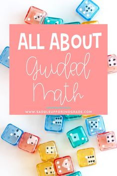 Guided Math is a framework that allows you to provide targeted, differentiated instruction in small groups. This blog post talks about what Guided Math is and walks you through all of the components.