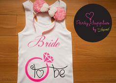 Kit de playera para #novia y diadema estilo #Minnie. Encuentra más de nuestros kits en nuestra tienda en línea: https://www.kichink.com/buy/415555/amarelo-party-supplies/bachelorette-13