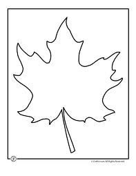 leaf cutouts template - Google Search