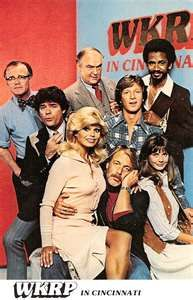 WKRP in Cincinnati - Loved this show.  My husband even play on some of music tracks for this show.