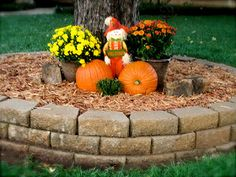 A Penny For Thought My Front Yard Fall Decor Rustic