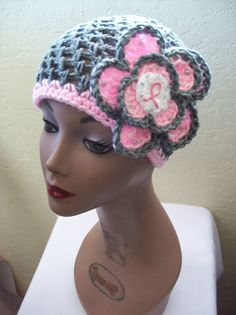 Cafe Crochet Designs Billie Crochet Mesh Cap