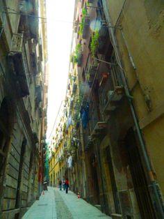 Via La Marmora, Cagliari, Sardegna, Italy.   WalterCiacci2014©