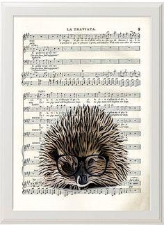 Hey, I found this really awesome Etsy listing at https://www.etsy.com/listing/126321285/hedgehog-print-hedgehog-art-hedgehog