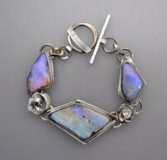 RESERVED......Three Opals by Temi on Etsy