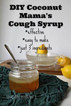 DIY Cough Syrup - 2 Recipes