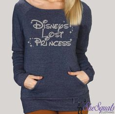 Disney's Forgotten Princess Fleece Sweatshirt. Disney Princess Gym Sweatshirt. Off Shoulder Sweatshirt. Off Shoulder Fleece Princess Sweater by SheSquatsClothing on Etsy