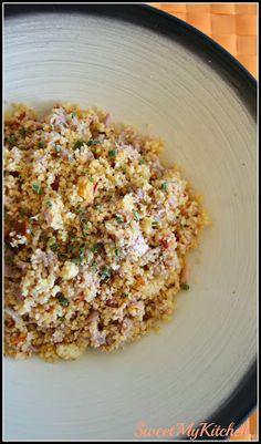 Sweet my Kitchen: Cuscuz de atum e tomate seco