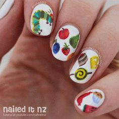Hi everyone! I figured it was time to give you a wrap-up of my latest nail art videos.   These first two are nails I wore when I went to Aus...