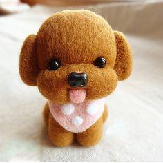 needle felt kawaii puppy - Google Search