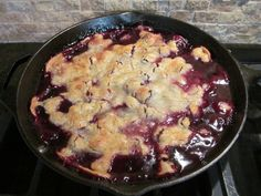 You can serve this cobbler up straight from the skillet. Get the recipe from Family Savvy.   - Delish.com