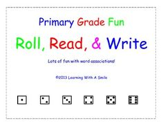 These Roll, Read, & Write Word Association Game printables are designed to reinforce words taught in First, Second, and Third Grades. This packet contains 81 word game pages jam-packed with fun.  Each printable contains 6 words that have something in common with each other.