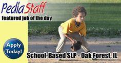 Hot, New Job! School-Based SLP – Oak Forest, IL