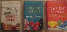 3 Mary Kay Andrews novels soft covers Summer Rental Spring Fever Ladies Night