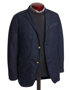 Denim Tailored Jacket by J.Press.