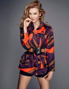 Karlie Kloss  by Kai Z Feng for Elle UK, Feb 2016