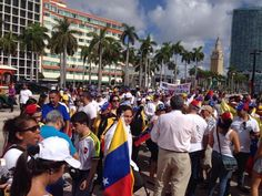 #30M También desde #Miami se unen a la concentración  #BaySide #360UCV