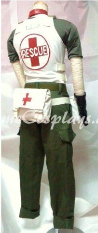 Resident Evil Rebecca Chambers Cosplay Costume  www.animecosplays.com