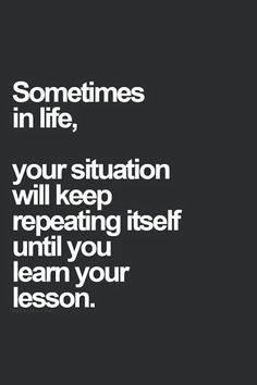 Learn lesson from your past situation.  http://goo.gl/gVw45p