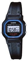 Casio Digital Watch with Countdown Timer. Black plastic version. About $15.