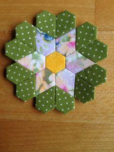 Blume - Hexagons und mehr