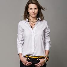 how to wear button down shirts for women fall - Google Search