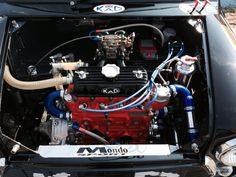 Miglia engine bay