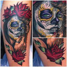 Megan Massacre tattoo