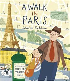 A Walk in Paris: Salvatore Rubbino: 9780763669843: Amazon.com: Books