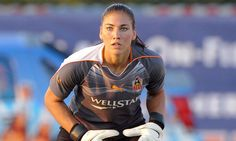 Hope Solo, US Women's national soccer team goalie.