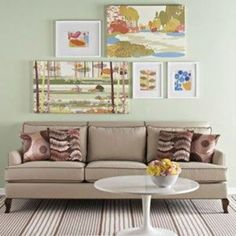 above couch - Google Search