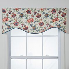 Chelsea Cotton Shaped Window Valance - Overstock™ Shopping - Great Deals on Valances