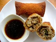 Low Sodium Egg Rolls and Faux Soy Sauce Low Sodium Snacks, No Sodium Foods, Low Sodium Diet, Dash Diet Recipes, Healthy Eating Recipes, Gourmet Recipes, Wonton Recipes, Healthy Foods, Sodium Free Recipes