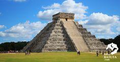 عجائب الدنيا السبع هرم تشيتشن إيتزا   المكسيك