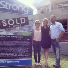 Suburb record in Loftus! Belinda Sanders, view the amazing auction video on our Facebook page.  facebook.com/strongproperty