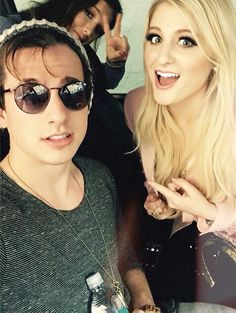 charlie puth with meghan trainor