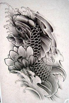 """Tuyển chọn hình xăm """"cá chép hóa rộng"""" của Tattoo 2016"""