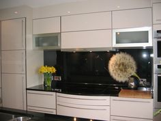 Image printed glass splashback