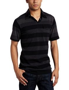 Was $34.00 now as low as $21.99 for this Burnside Men's Misquote Stripe Knit Polo Shirt. Click on pic for more info...