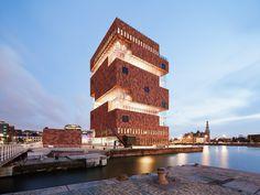 (via Raimund Koch Photographer - Architecture) Antwerp, Belgium
