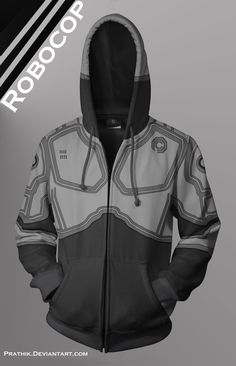 Robocop Hoodie! by prathik on deviantART