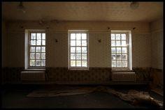 RAF Church Fenton base. Abandoned. Jess Turver Photography.