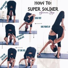 "3,942 Likes, 99 Comments - Jasmine Chong (@jasmine_yoga) on Instagram: ""#jasmineYogaTutorial : #SuperSoldier Easier than it looks. So dont feel intimidated. Give it a try…"""