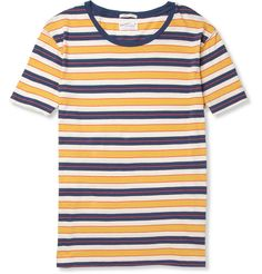 Gant Rugger Striped Cotton T-Shirt | MR PORTER